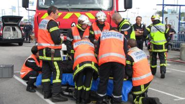 prevention-securite-pompier-herouville-demonstration